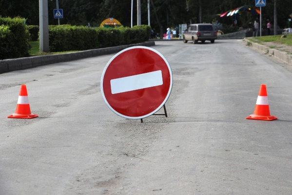 Информационные щиты с маршрутом объезда установят на нескольких улицах