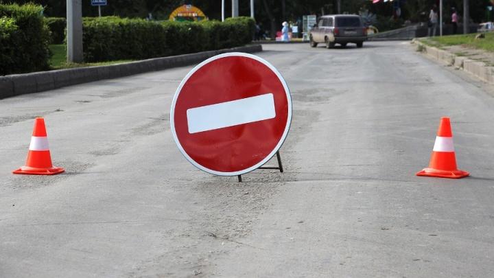 С завтрашнего дня в Омске на три ночи перекроют Окружную дорогу из-за ремонта ж/д путей