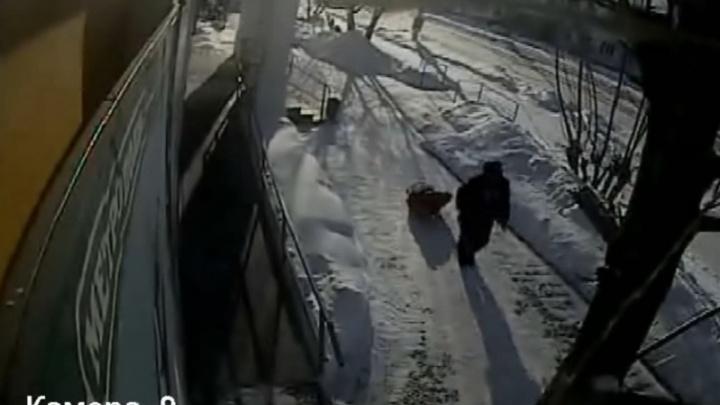 В Зауралье заключили под стражу мужчину, подозреваемого в убийстве продавца и краже продуктов