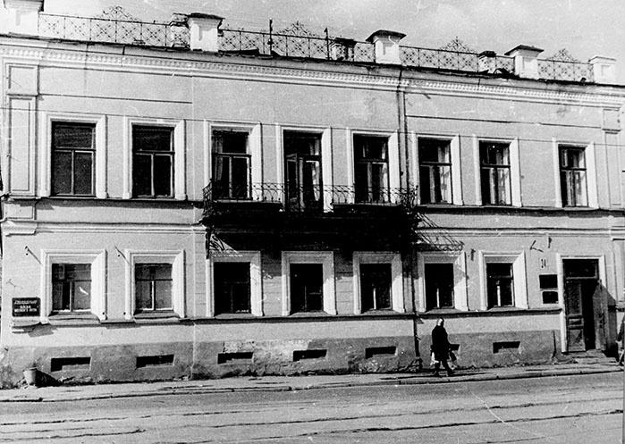 Мещанка Калашникова торговала здесь мукой-крупчаткой