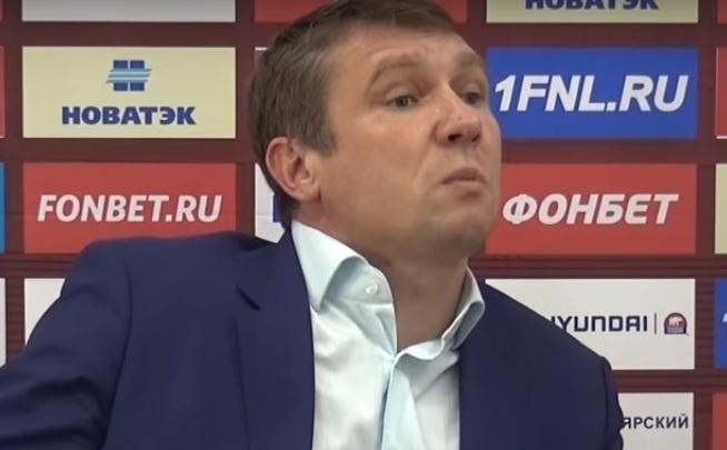 «Учить меня будете?!»: тренер ФК «Тамбов» устроил скандал после разгромного проигрыша «Енисею»