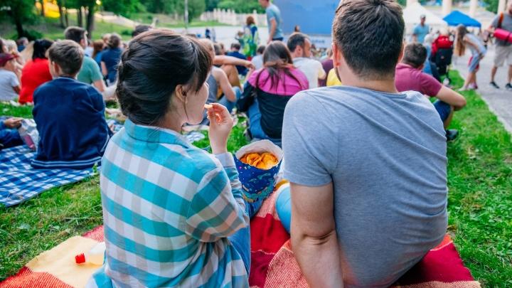 Рязанцев приглашают в кинотеатр под открытым небом