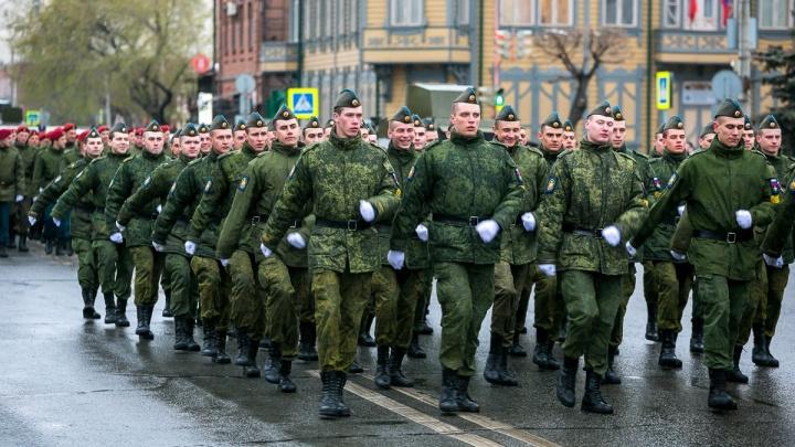 Стартовал весенний призыв: в войска требуется набрать 1700 красноярцев