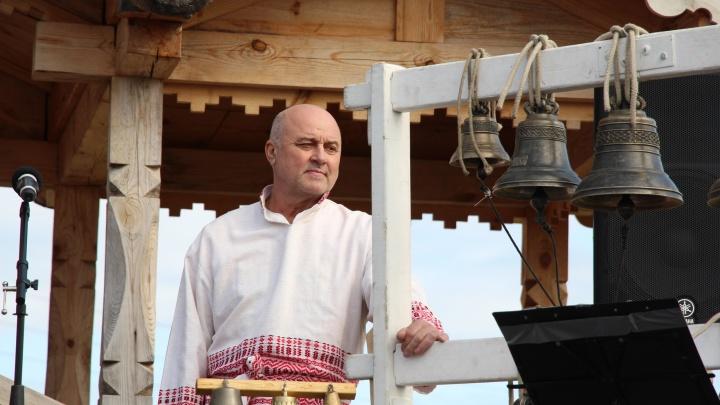 Сделано на Урале: спустя сто лет в деревне Кимжа Архангельской области зазвучали новые колокола