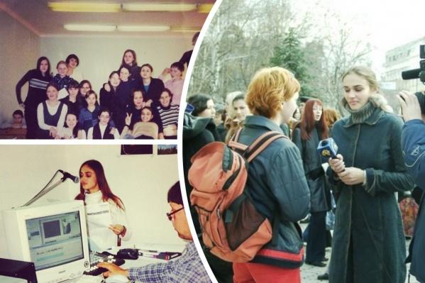 Делимся воспоминаниями Алены Водонаевой, когда она училась в Тюмени и мечтала стать журналистом