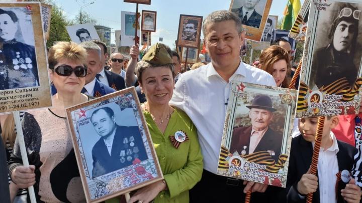Нам надо победить в каждом лень и безразличие: Радий Хабиров — об участии в «Бессмертном полку»