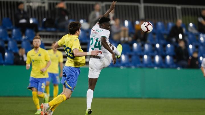 Матч «Ростов» — «Локомотив» завершился поражением желто-синих