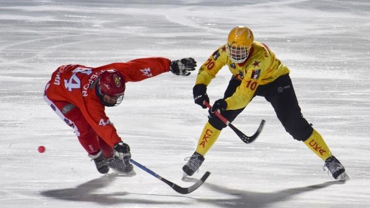 Хоккей с мячом: «Сибсельмаш» уступил хабаровскому «СКА-Нефтяник»
