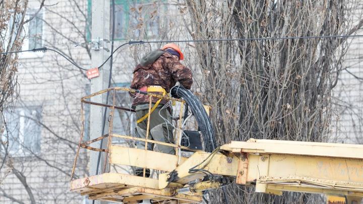 В ближайшую неделю больше 60 улиц Ростова-на-Дону останутся без света