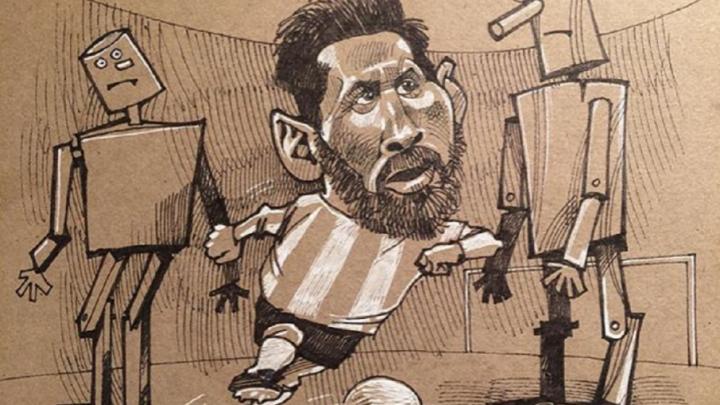 Рисунок уфимского карикатуриста попал на обложку газеты «Советский спорт»