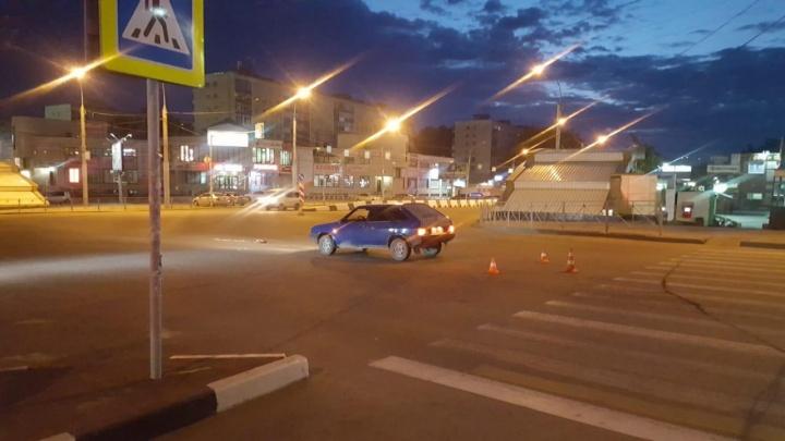 В ГИБДД рассказали о травмах пешехода, которого сбила «девятка» на «Золотой Ниве»