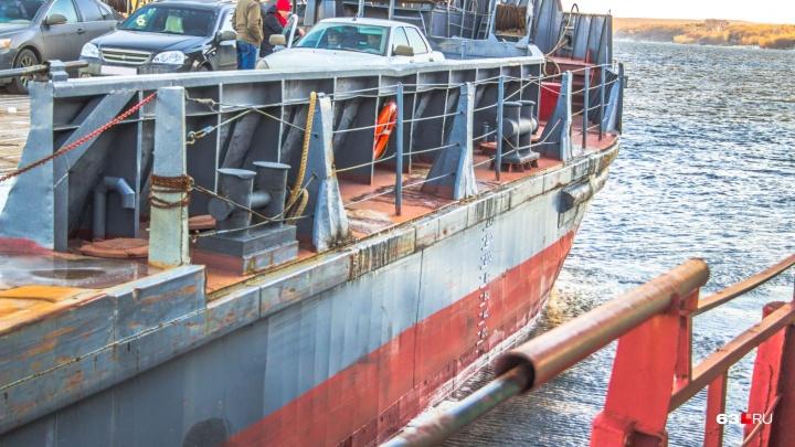 В Самаре продлили работу грузовой переправы до Рождествено