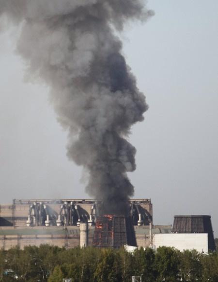 Пожар на ТЭЦ-4 в 2010 году