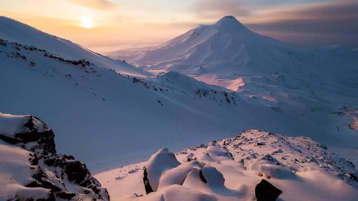 Новосибирский фотограф покорил 2 вулкана ради красивейших снимков