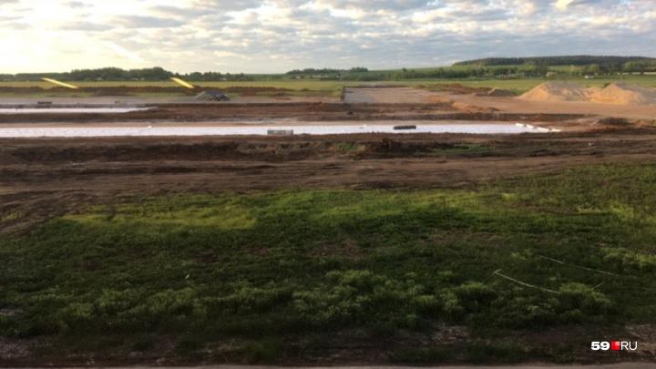 Телетрапы пока не установить: реконструкция аэропорта Перми идет с опозданием на полтора месяца