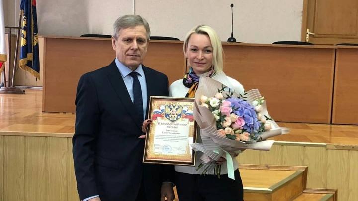 В Архангельске наградили горожан, которые в январе 2018 года помогли поймать убийцу двух таксистов