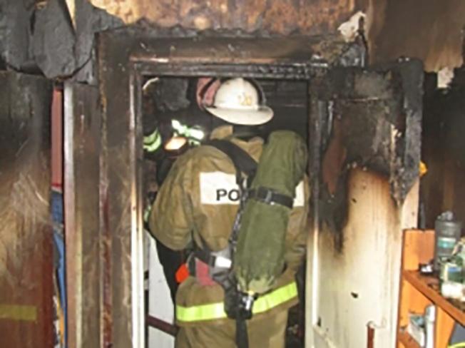 3-х летний ребенок случайно поджег квартиру вСормовском районе