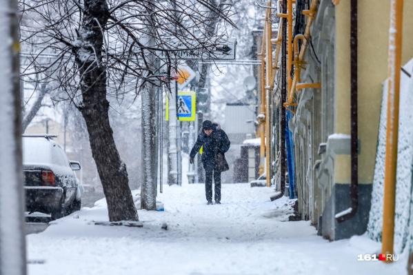 Четыре дня подряд будет идти снег