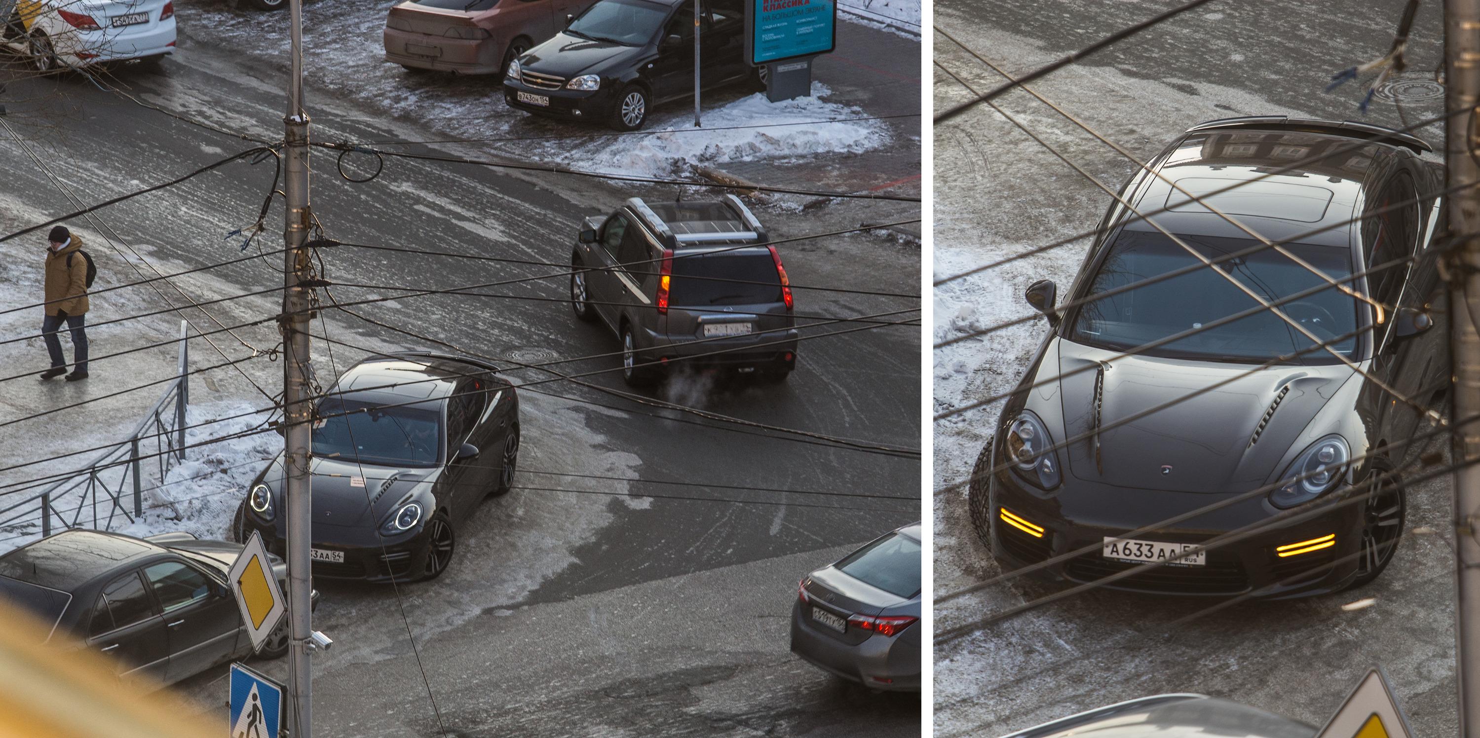 «Я паркуюсь как чудак»:Porsche ААА — встаём криво и включаем аварийку