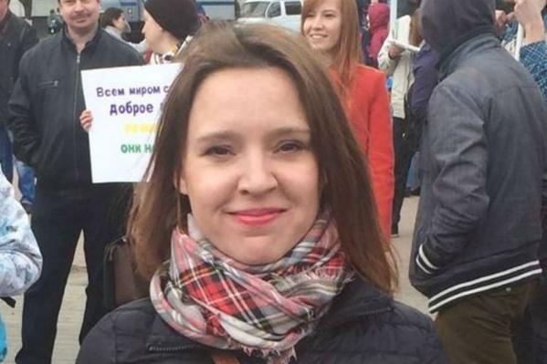 Координатор штаба Навального в Ярославле Елена Лекиашвили