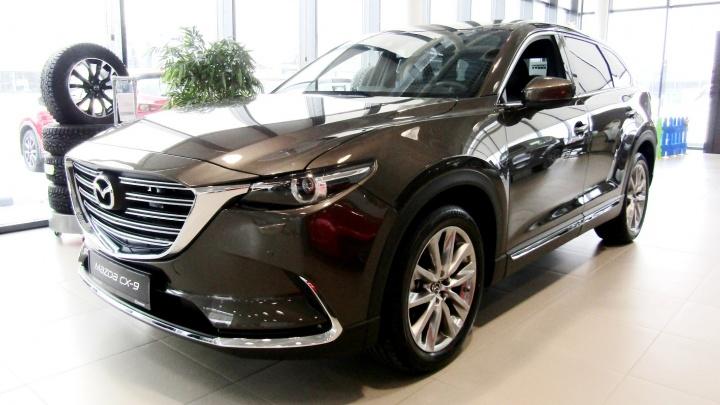 В МЦ «Маршал» действует премиальная выгода на Mazda CX-9 по трейд-ин