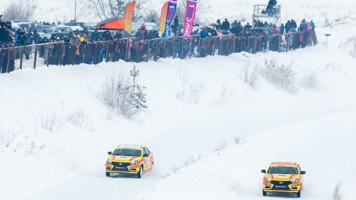 Рёв моторов и снежные заносы: сильнейшие гонщики России сразились за звание лучшего под Тольятти