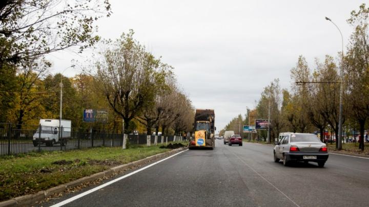 15 ДТП в одном месте: когда закончат ремонт Ленинградского проспекта в Ярославле