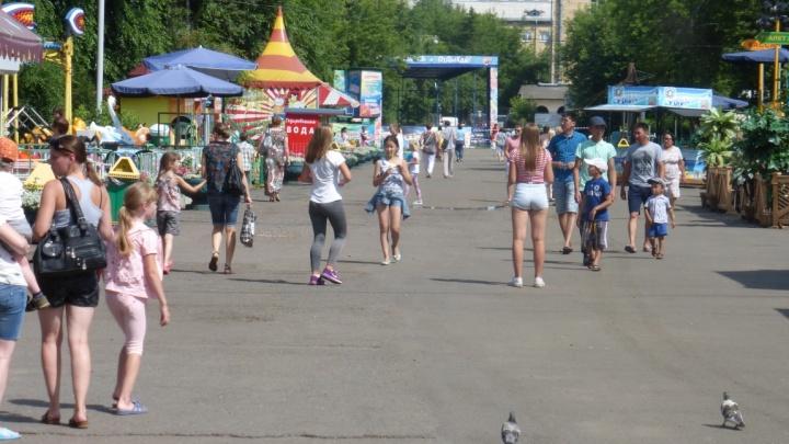 На выходных Красноярск вновь накроет 30-градусная жара
