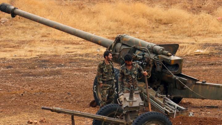 В Сирии боевики убили российского военного советника