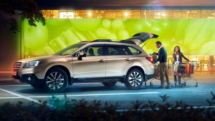 Subaru Outback с полным приводом официальный дилер продаёт с выгодой до 250 000 рублей