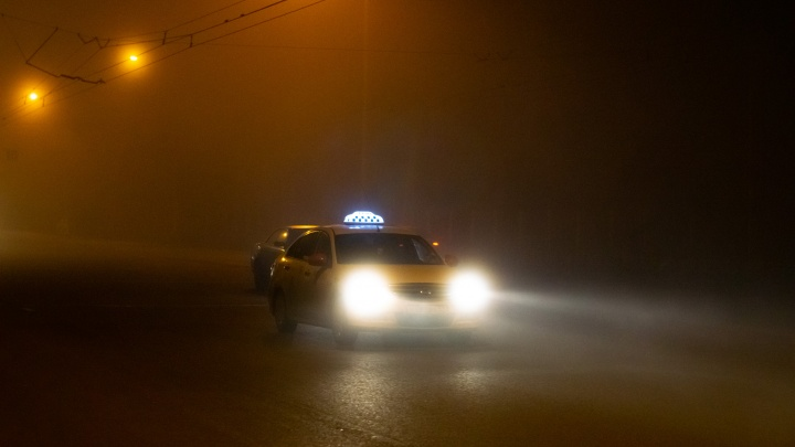 Ночь защиты тумана: смотрим, как Омск накрыло пеленой в первый день лета