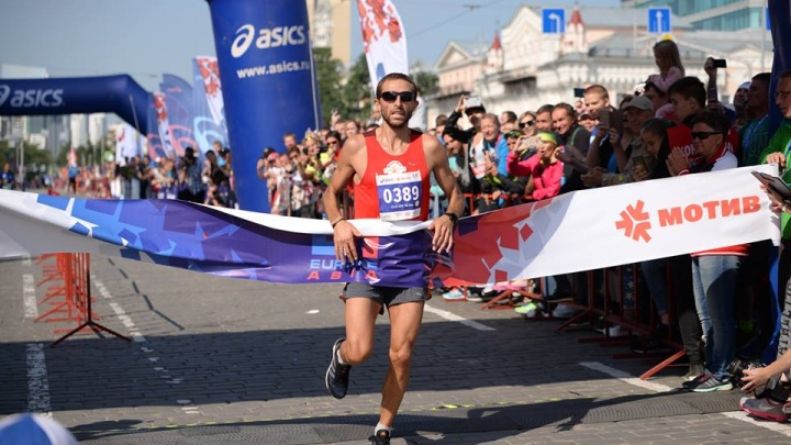 Самарские бегуны покорили марафон «Европа — Азия»