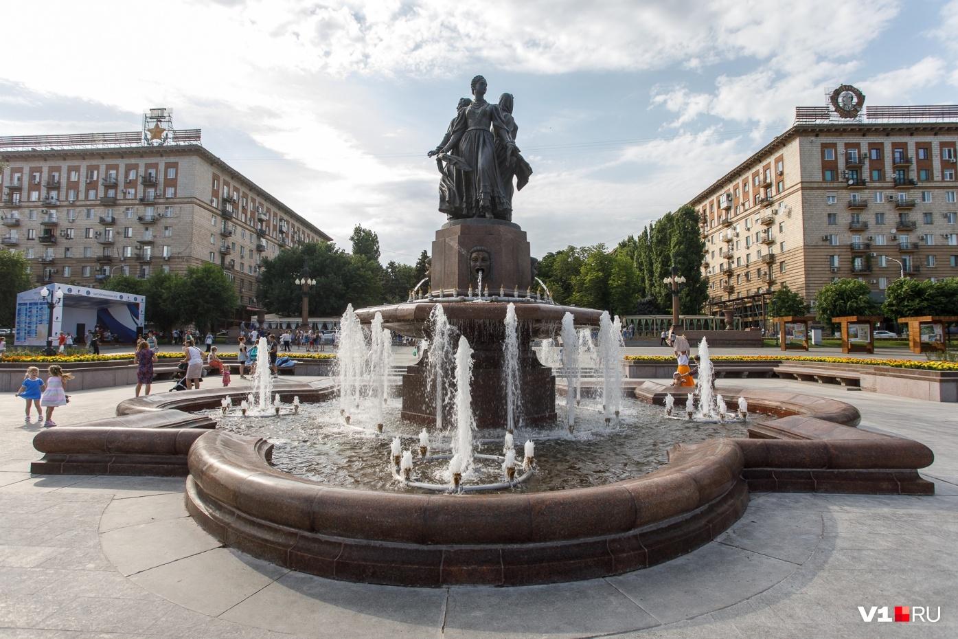Фонтан «Искусство» признали объектом культурного наследия за 100 тысяч рублей