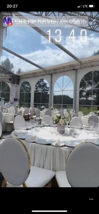 Так выглядели столы еще до появления гостей