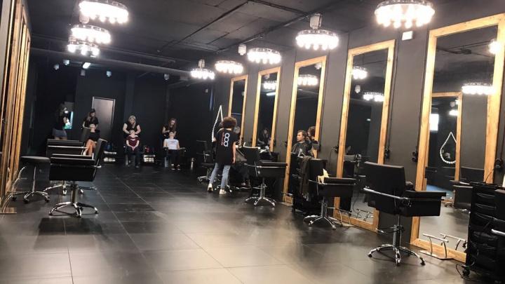 В Новосибирске открылся чёрный салон красоты