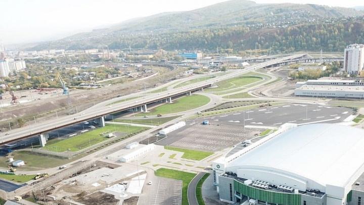 Закончено строительство развязки на съезде с 4-го моста в «Тихие зори»