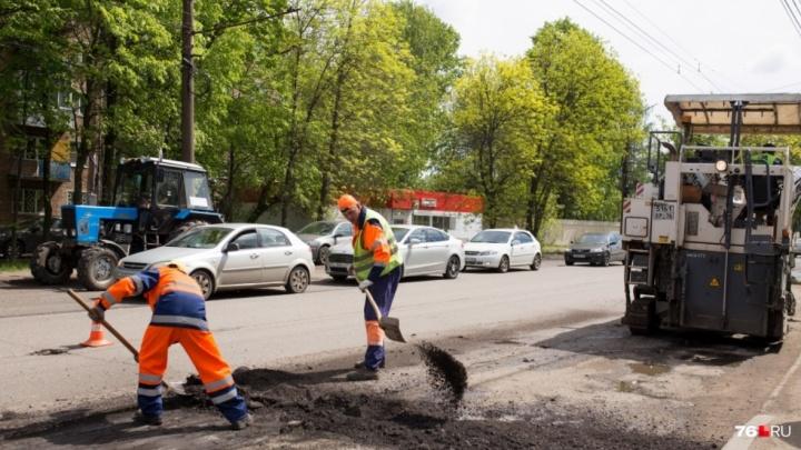 Качественно не будет: в Ярославле подрядчика обвинили в срыве сроков ремонта дорог