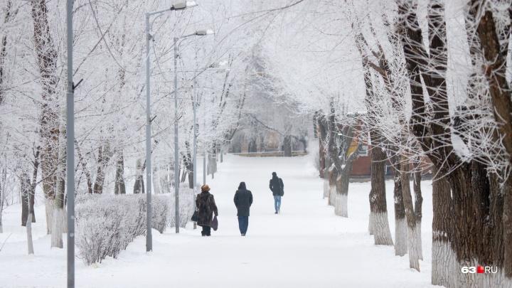 Жителей Самарской области ждут холодные выходные с туманом