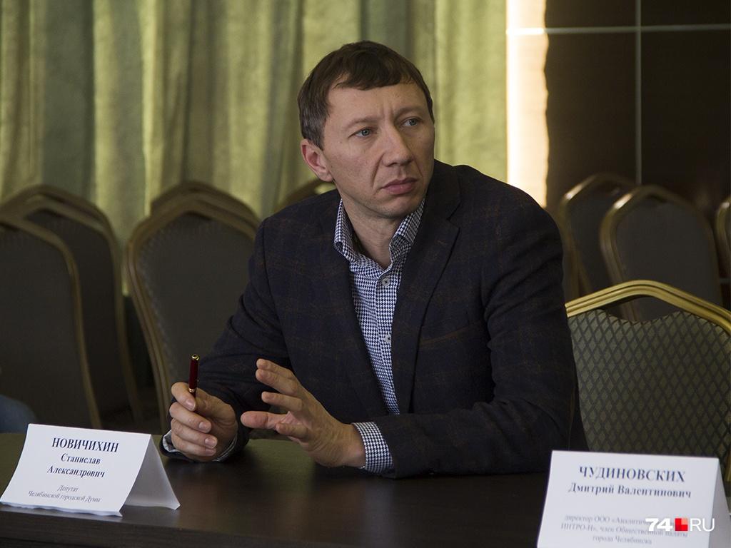 Станислав Новичихин руководит «Первой транспортной корпорацией», в которую входят несколько автобусных парков