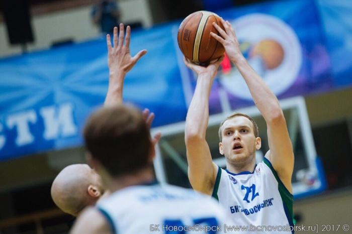 Баскетболист подписал контракт сБК «Новосибирск» совсем недавно