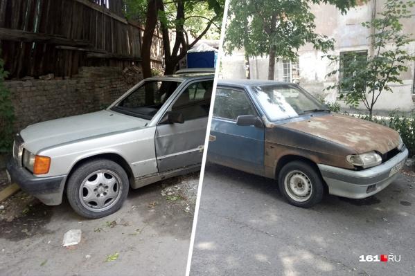 Бдительные ростовчане могут сообщить о бесхозных авто в департамент ЖКХ города