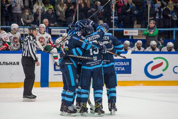 Хоккей: «Сибирь» победила «Ак Барс»