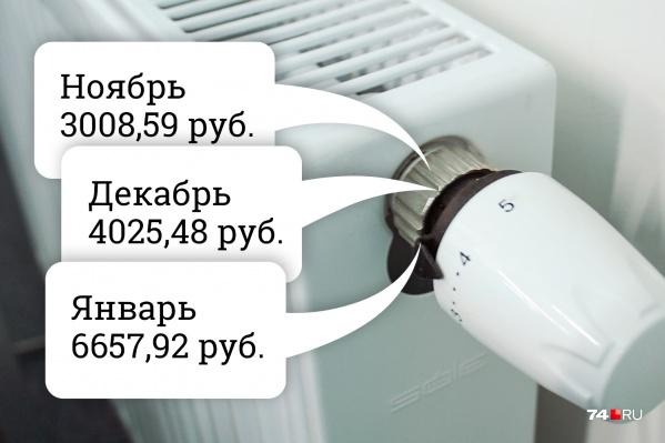 С каждым зимним месяцем зима становится всё холоднее, а платёжки — всё «горячее»