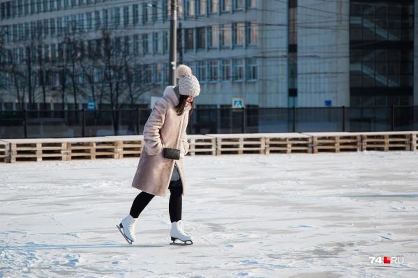 Заливку катков в Челябинске должны завершить уже к концу этой недели