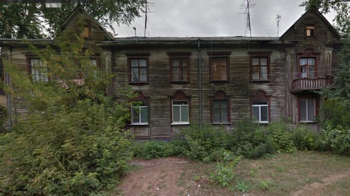 В Чкаловском районеуничтожат пять ветхих домов за 20 дней: изучаем карту большого сноса