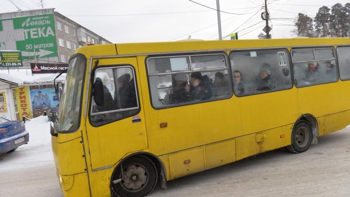Маршрутки № 039 поменяли схему движения, чтобы возить пассажиров из Кольцово на Широкую Речку