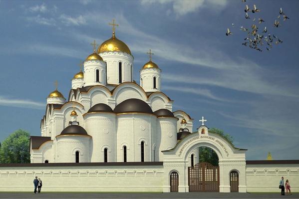 Так выглядит эскизный проект нового храма