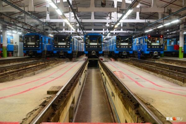 В Екатеринбурге действует только одна ветка метро, а мечты о второй так и остаются мечтами