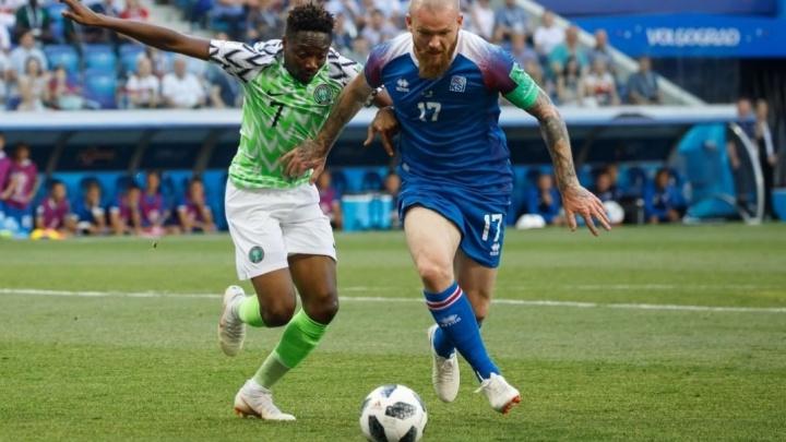 Исландцы, сыгравшие вничью с аргентинцами, проиграли сборной Нигерии