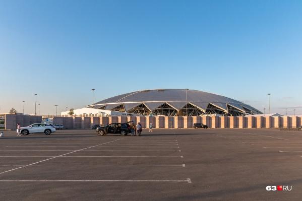 Стадион сдали в эксплуатацию в апреле 2018 года